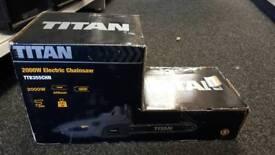 Titan 2000w chainsaw