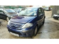 Citroen C3 L, 2005 year, manual and petrol Breaking and selling for parts