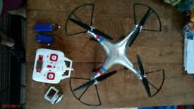 Drone. SYMA 8XG with HD camera.
