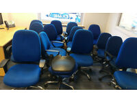 FREE TO COLLECT 14 x OFFICE CHAIRS - all in various conditions