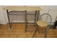 Writing/computer Desk OR Breakfast table with matching chair
