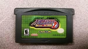Mega Man Battle Network 2 GBA Game