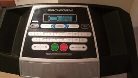 Proform 520 ZLT Folding treadmill