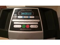 Proform 520 ZLT Folding treadmill