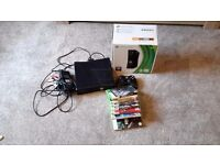 XBox 360 4GB with 8 games