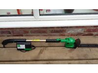 cordless telescopic hedge trimmer battery operated