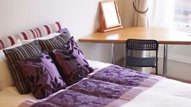 Superb large room bedsit to rent in glasgow, hillhead, west end only £415 inc most bills