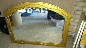 Used wall lounge mirror