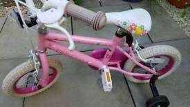 Girls bicycle Princess