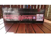 New Boxed Heatwave Undertile Heating Mat with free Lcd Thermostat rrp £130+
