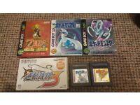 Japanese Pokemon / Zelda Games GBC Gameboy