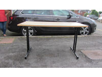 Solid fold down table/ desk