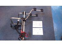Spare Wheel mounted Bike Rack