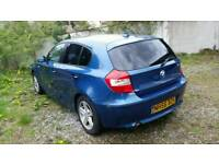 BMW 1series 56 plate 1.6 petrol + LPG/GAS 5 doors