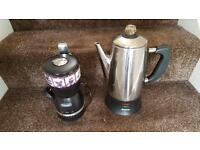 Coffee and coffee bean/ spice grinder