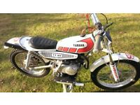 1975 Yamaha TY80 classic trials motorcycle