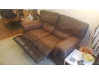 FREE Brown Reclining Sofa