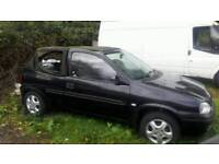 VAUXHALL CORSA CONVERTIBLE 1988 DRIVES PERFECT TEL..07377926604