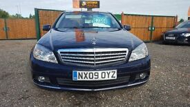 Mercedes C180 --1.6-- Petrol Auto Saloon With Leather Finance Available