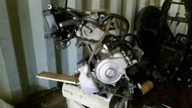 Yamaha yzf125r engine