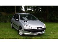 PEUGEOT 206 ++1.4 PETROL MANUAL++5 DOOR++LONG MOT++IDEAL FIRST CAR++
