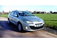 RENAULT MEGANE ESTATE 1.5 DCI, 80 MPG AND £20 TAX !!!