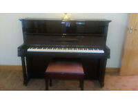 Challen upright piano and stool for sale. Condition as new.