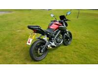 2015 Yamaha mt 125cc Abs