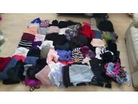 Huge job lot of 80+ items of womens clothing size 10/12 jeans tops jumpers dresses all high street.