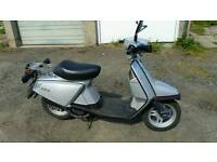 Yamaha Salient, Vintage Scooter, Last One in UK, 4600 Miles, Mot'd