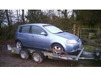 Chevrolet, Daewoo Kalos 1.4 breaking for spares.