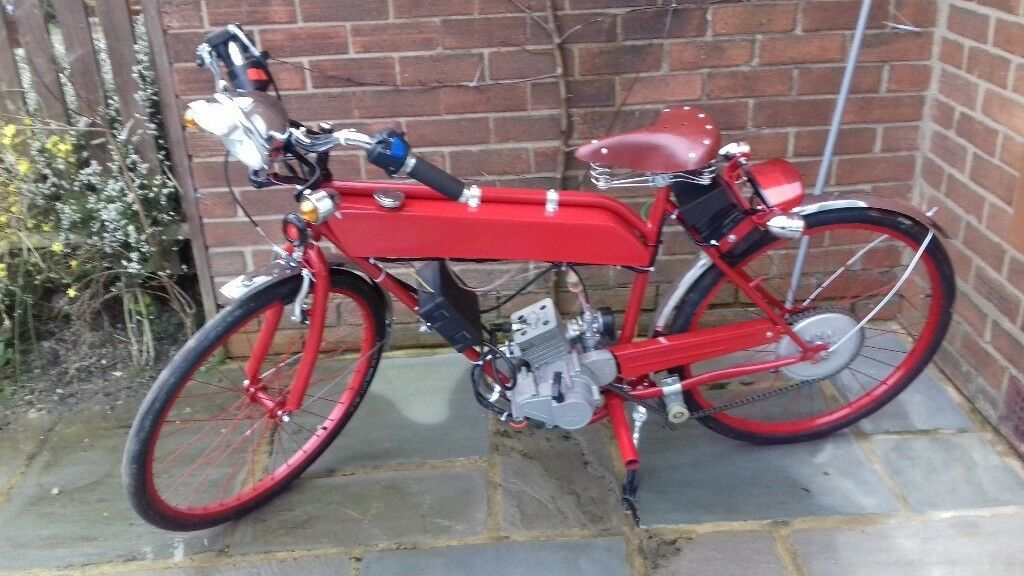 80cc Motorised Bicycle With Petrol Engine In