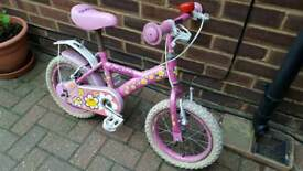 Girls bike bargain!