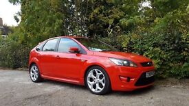2008 FORD FOCUS ST2 2.5 TURBO 5 DOOR HATCHBACK RED TOP SPEC EXCELLENT CONDITION INSIDE AND OUT
