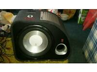 Flu sub with built in amp