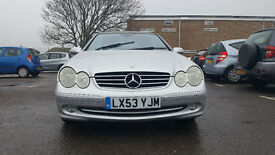 Mercedes-Benz CLK 3.2 CLK320 Avantgarde 2dr convertible £3,995 p/x welcome