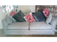 Newly Re-covered/Re-stuffed 3 Seater Settee