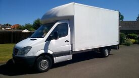 MERCEDES SPRINTER 13' 6'' LUTON WITH TAILIFT