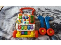 Vtech grow and go walker with box.Bargain price.