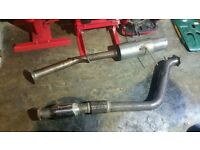 Subaru Impreza Newage decat and back box
