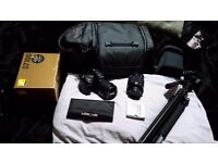 Nikon d7000 dslr and equipment