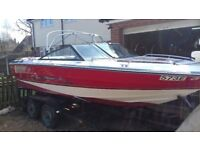 CHAPARRAL 178XL SPORTS BOAT WITH TRAILER.
