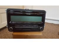 VW RCD310 Radio Stereo Unit MP3 1K0035186AA WITH CODE