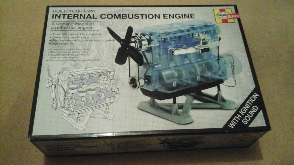 Haynes Build your own Internal Combustion Engine.
