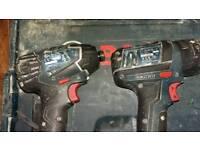 Bosh twin pack lithium iron x2battery