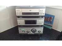 Sony Hifi system Comination of cd tape tuner and amplifier
