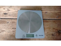 Salter Disc 1036 Stainless Steel Silver Kitchen Scales