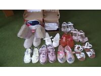 Girls Size 5 shoe bundle including Nike, converse and Next