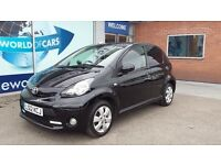 TOYOTA AYGO 1.0 VVT-i Fire Multimode 5dr Auto (black) 2012