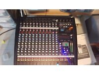 CITRONIC CLP1200 1200W PROFESSIONAL 12 CHANNEL POWERED MIXER, BANDS, SINGERS ETC....